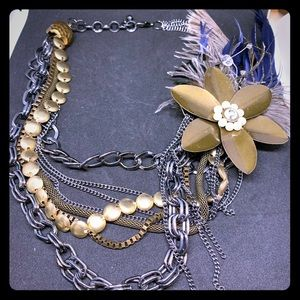Beautiful statement necklace.
